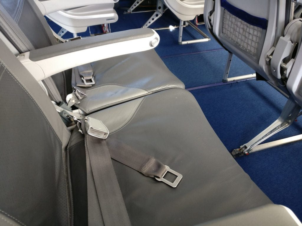 Lufthansa Business Class Mittelstrecke Sitz 4 1024x768