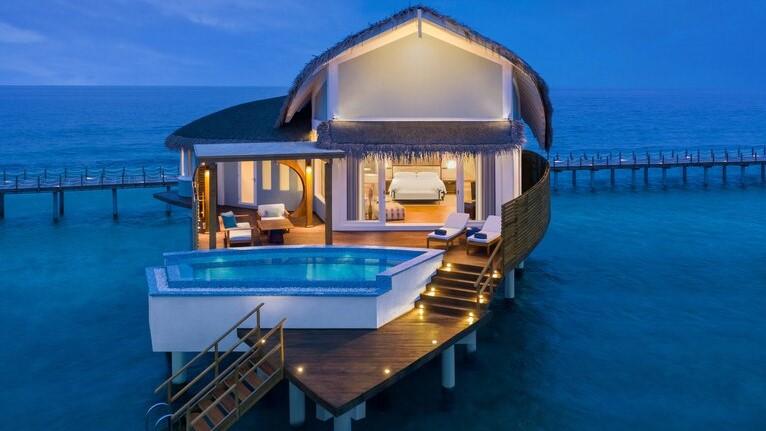 Poolvilla Malediven 2