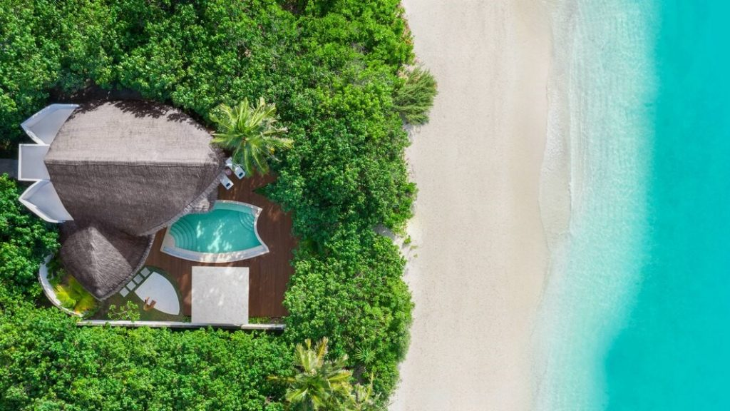 Poolvilla Am Strand Malediven 2