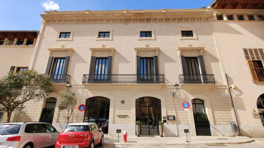 Sant Francesc Hotel Singular Palma De Mallorca Gebäude 1024x575