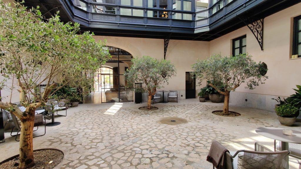 Sant Francesc Hotel Singular Palma De Mallorca Innenhof 1024x575