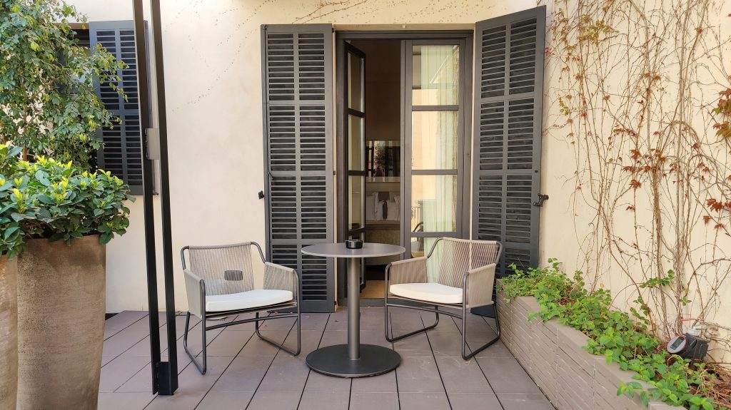 Sant Francesc Hotel Singular Palma De Mallorca Zimmer Terrasse 3 1024x575