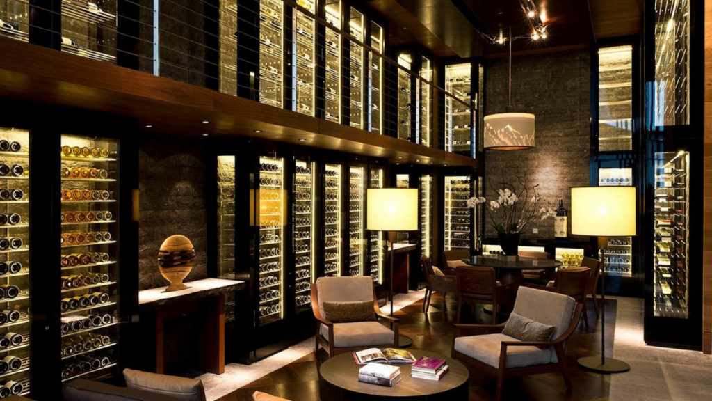 The Chedi Andermatt Wine Library 1600x900