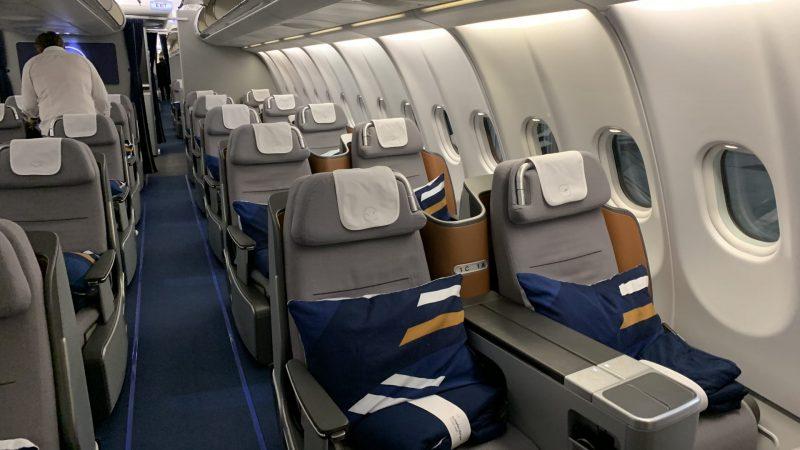 Lufthansa Business Kabine 3