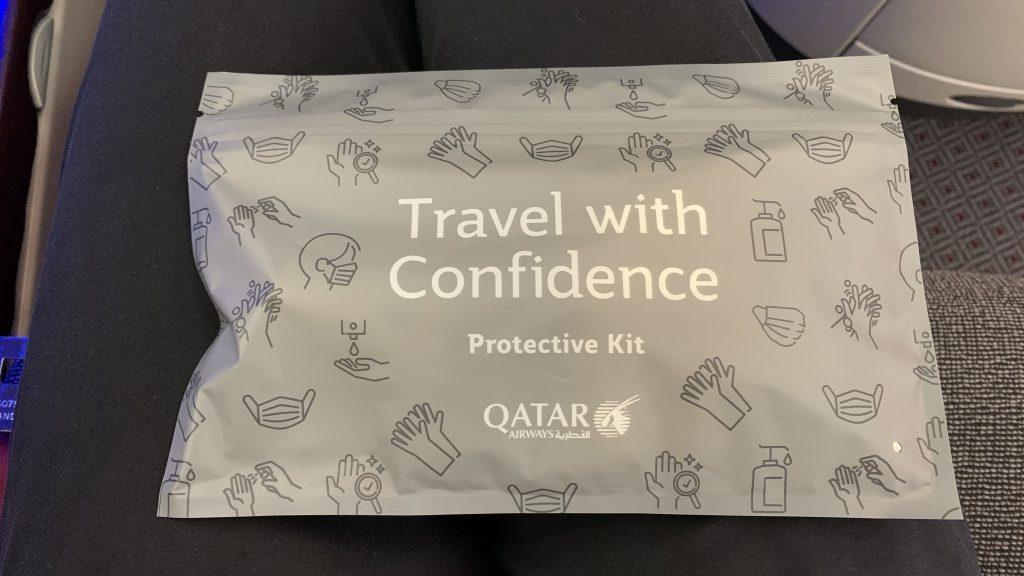 Qatar Airways Business Class Corona Kit 1024x576