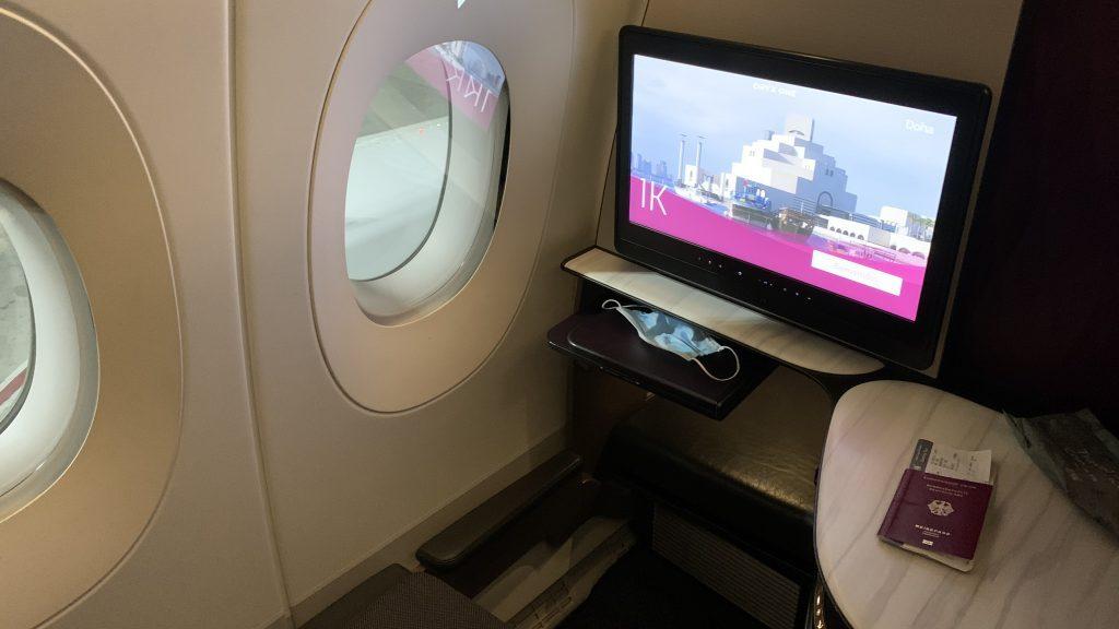 Qatar Airways Business Class Qsuite Airbus A350 1000 1024x576