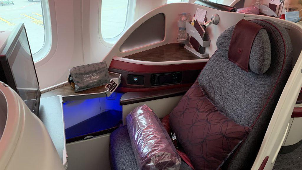 Qatar Airways Business Class Sitz 787 1024x576