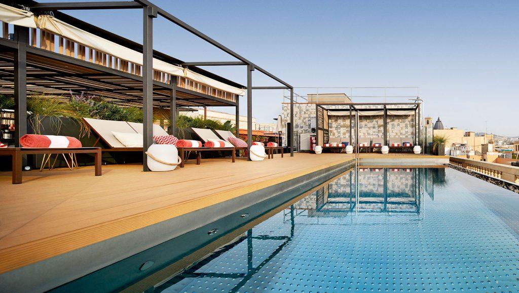 Rooftop Pool Barcelona