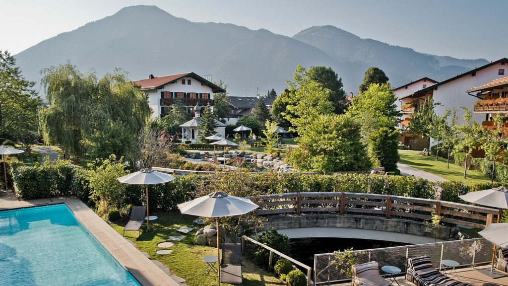 Bachmair Weissach Spa & Resort Exterior