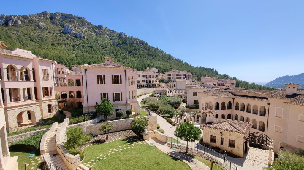 Cap Vermell Grand Hotel Mallorca Zimmer Ausblick 2 1024x575