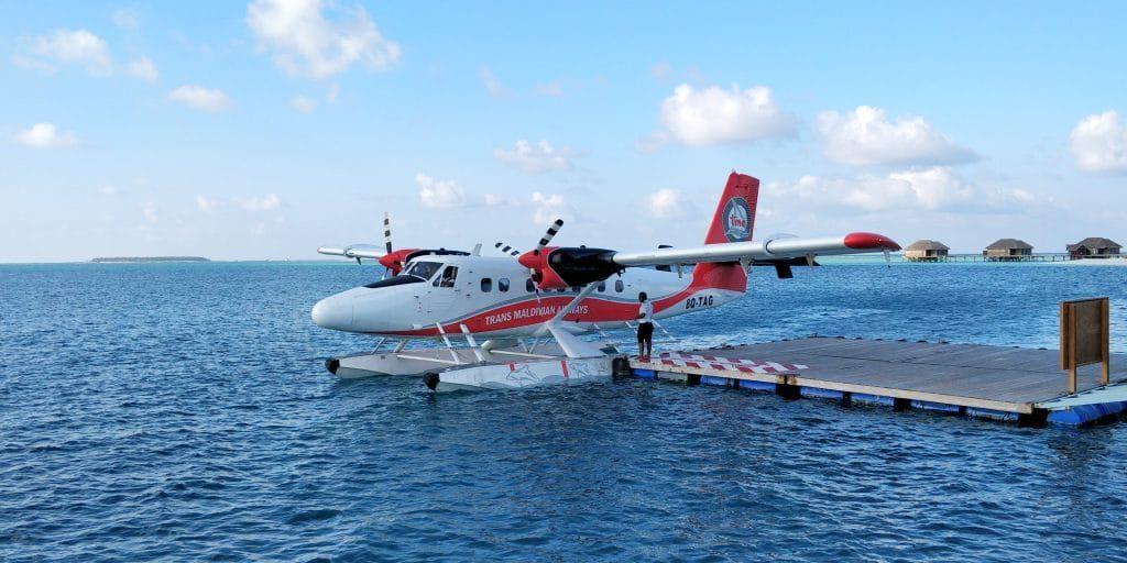 Conrad Maldives Rangali Island Wasserflugzeug 1024x512