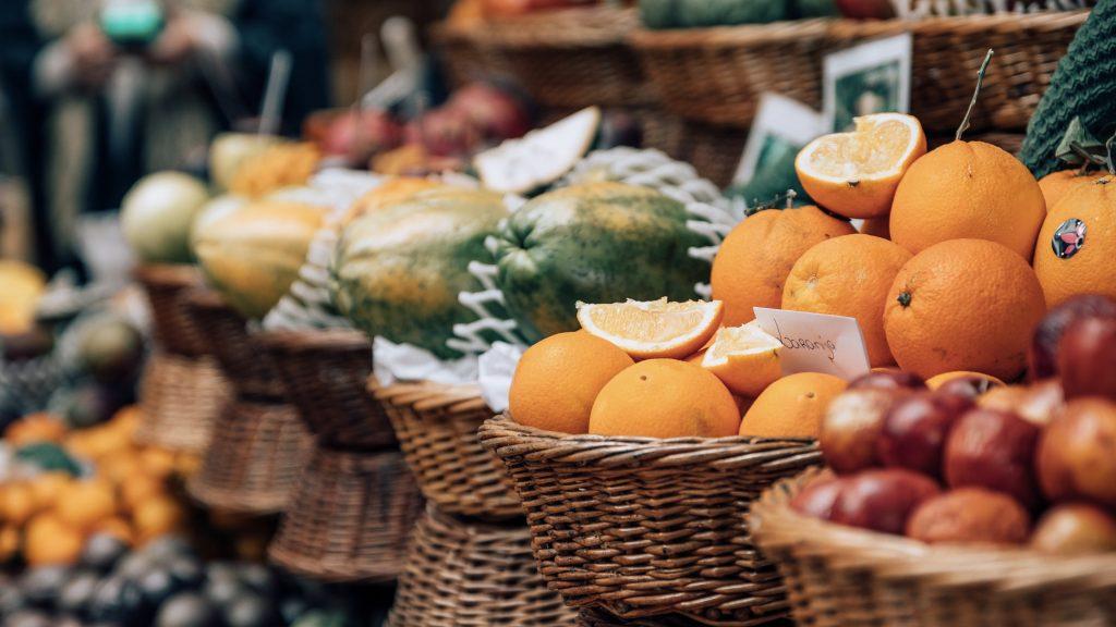 Funchal Madeira Markt