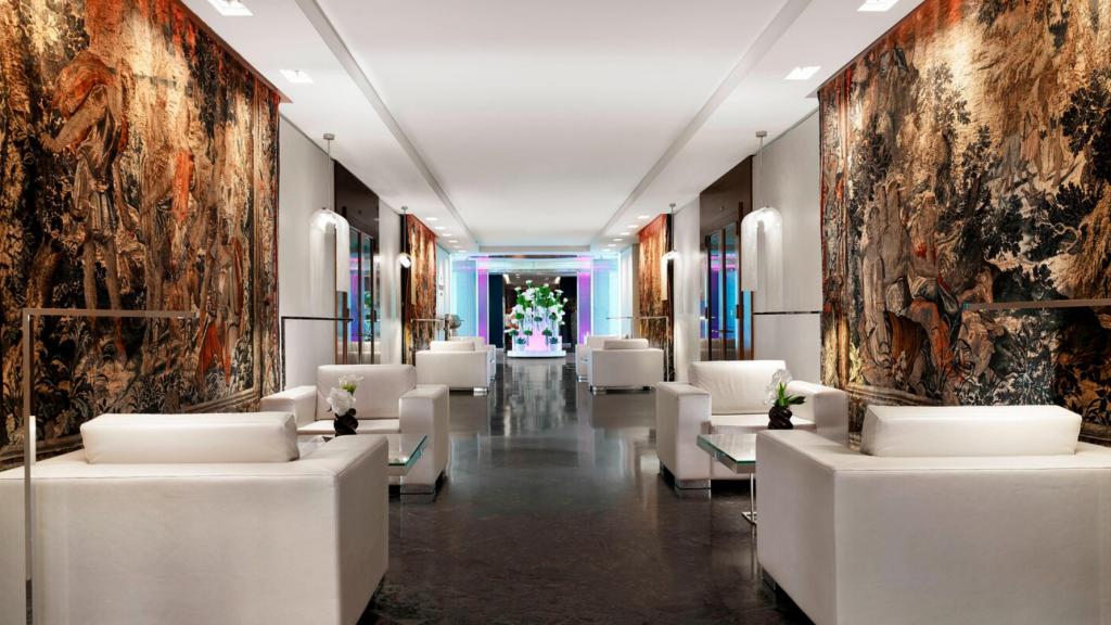 Hotel President Wilson Genf Lobby