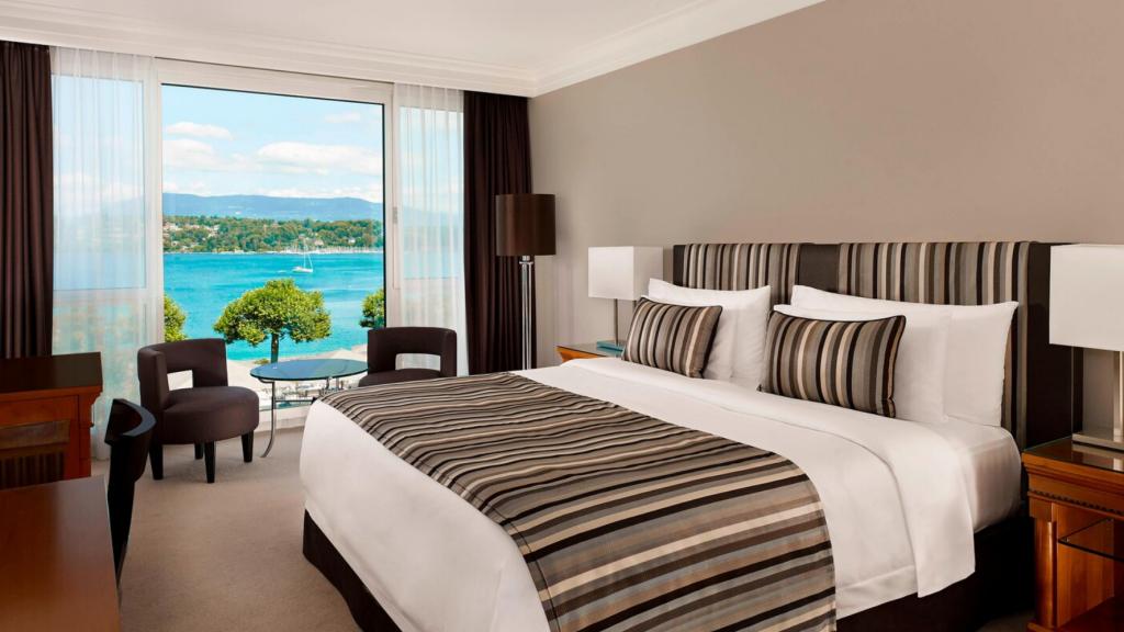 Hotel President Wilson Genf Zimmer
