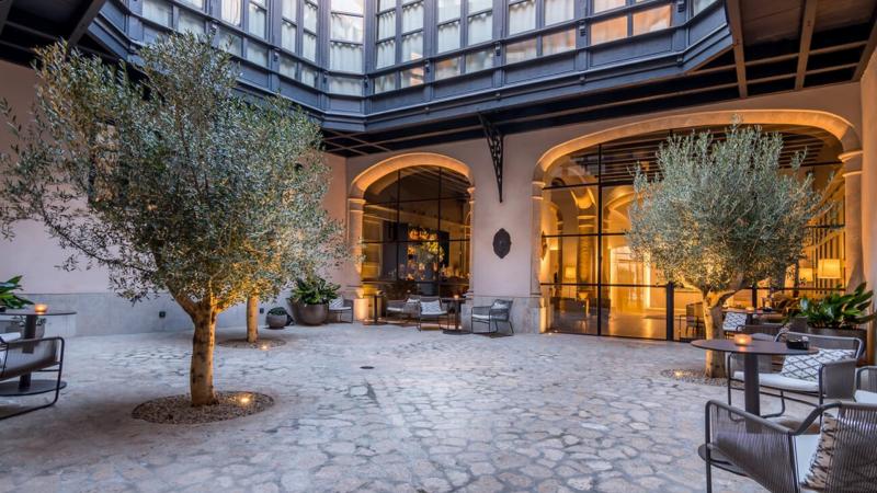 Hotel Sant Francesc Mallorca Patio