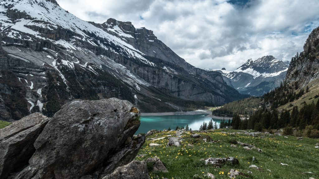 Oeschinen See Schweiz