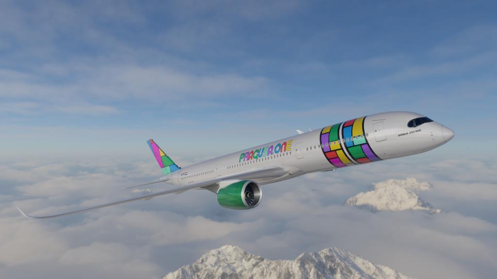 PRAGUSA.ONE Airbus A350 900 1024x576