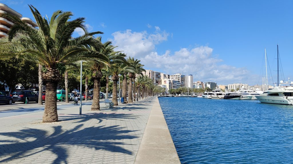 Palma De Mallorca Promenade 1024x575