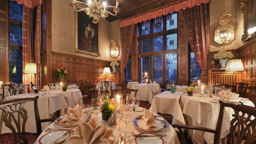 Schlosshotel Krohnberg Restaurant
