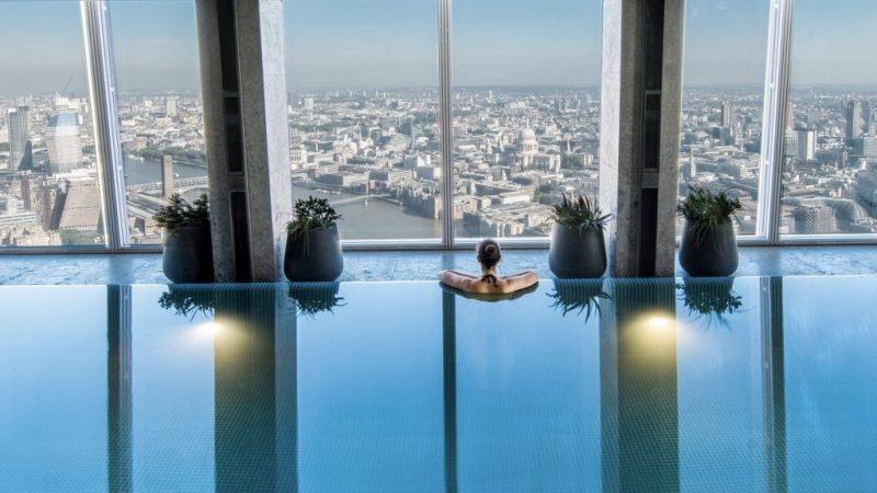 Sky Pool Infinity Pool The Shard 1024x576