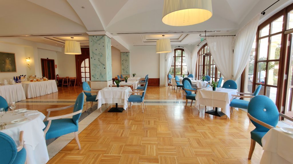 The St. Regis Mardavall Resort Mallorca Frühstücksraum 2 1024x575