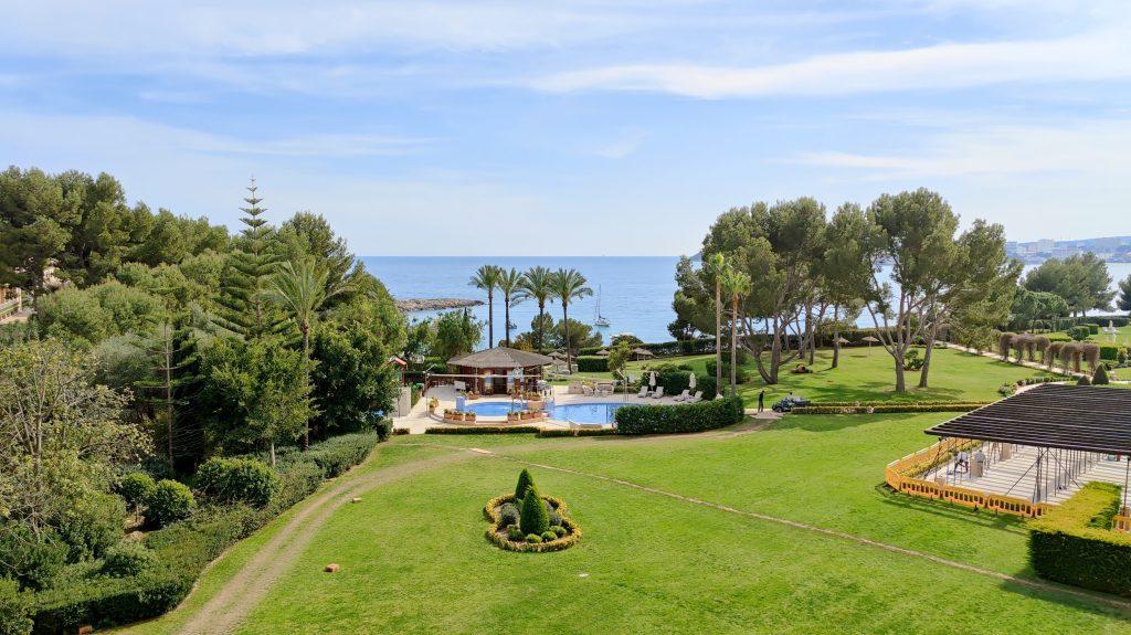 The St. Regis Mardavall Resort Mallorca Junior Suite Ausblick 1024x575