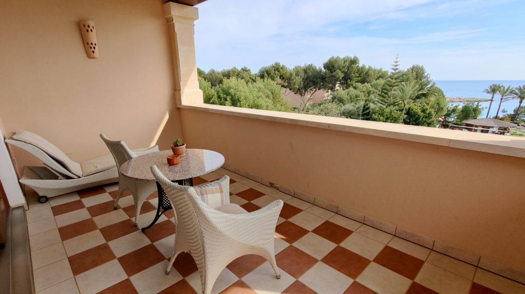 The St. Regis Mardavall Resort Mallorca Junior Suite Balkon 3 1024x575