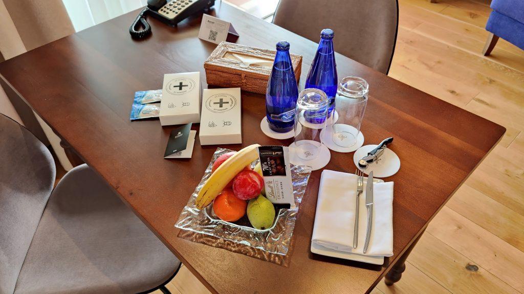 The St. Regis Mardavall Resort Mallorca Willkommensgeschenk 1024x575