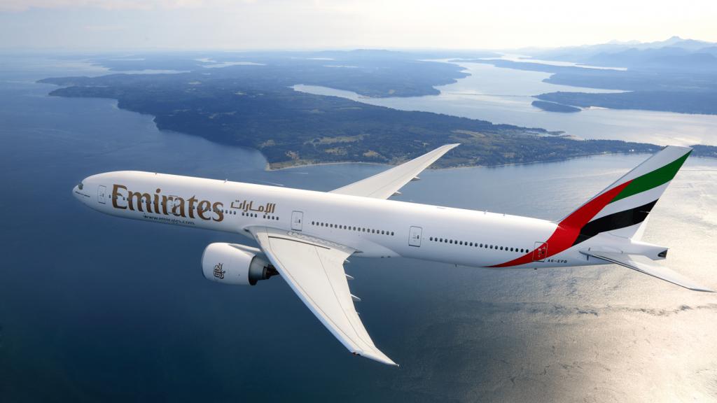 Emirates Boeing 777 300ER Bild 1024x683