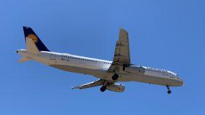 Lufthansa Airbus Anflug
