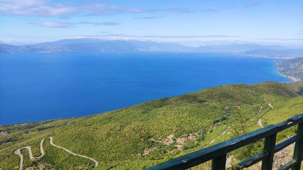 Ohrid Wanderung