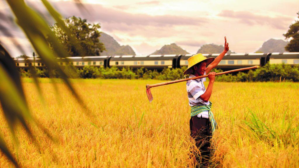 Belmond Eastern and Oriental Express Strecke durch Südostasien