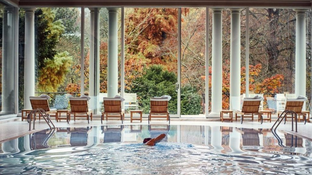 Spa Hotel Brenners Park Pool