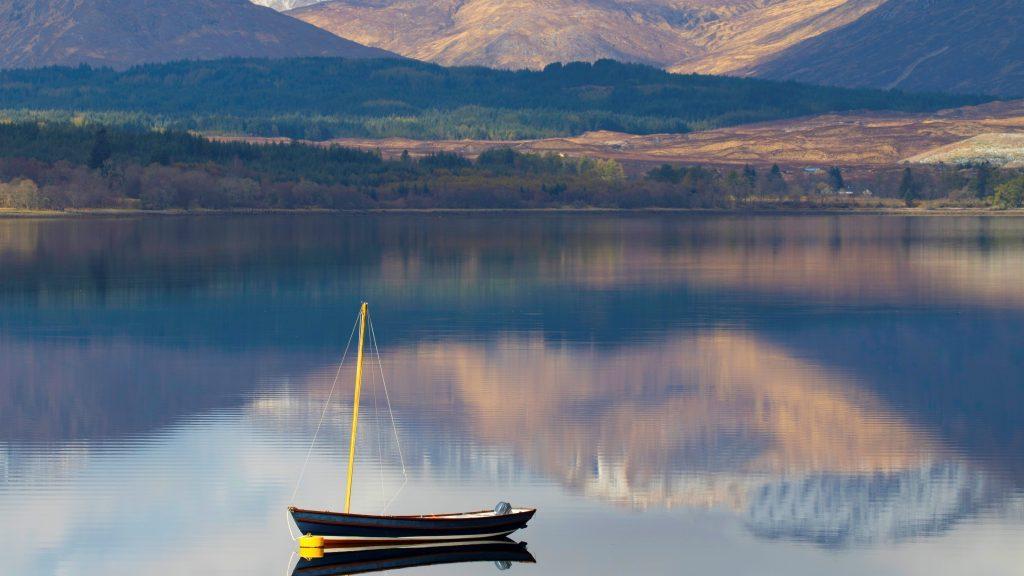 Belmond Royal Scotsman Beispielort Loch Shiel in Schottland