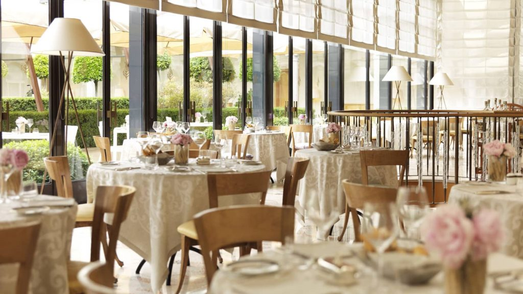Four Seasons Mailand Restaurant