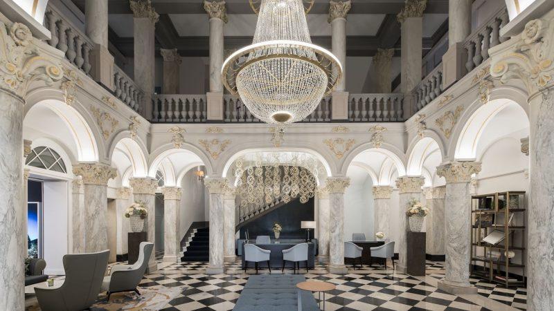 Lobby Hotel De La Paix