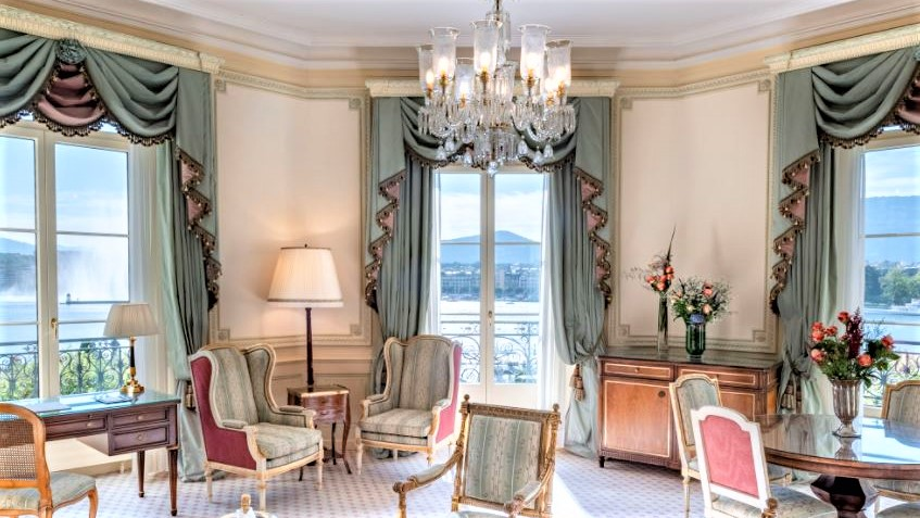 Beau Rivage Genf Suite