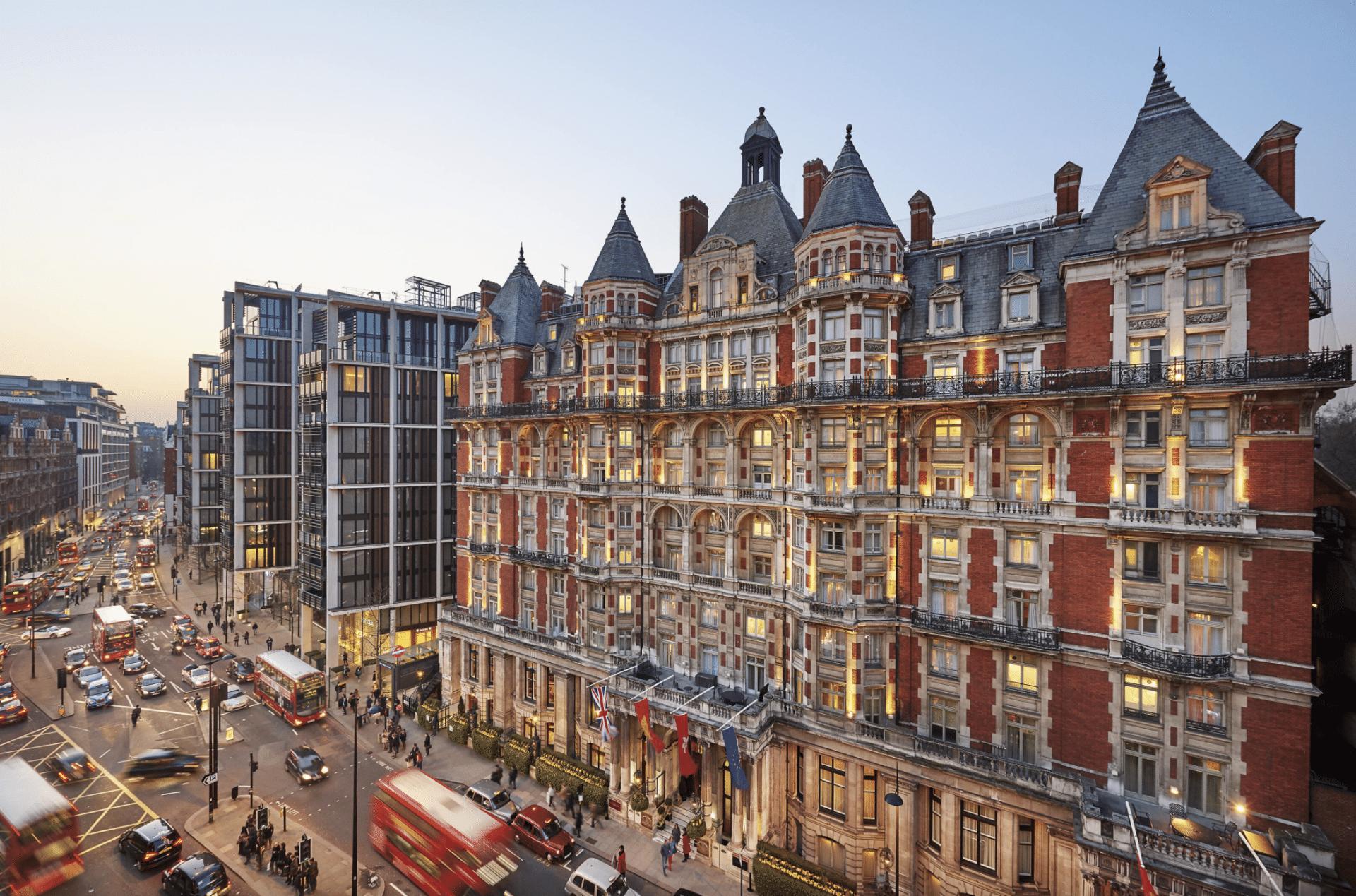 Mandarin Oriental London, Hotel