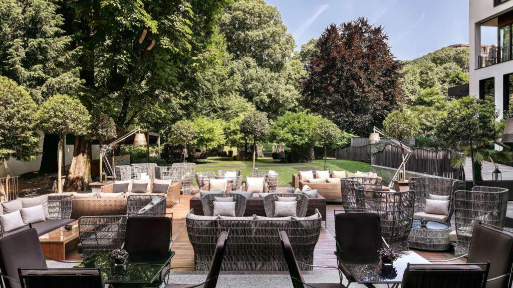 Bulgari Hotel Mailand Garten
