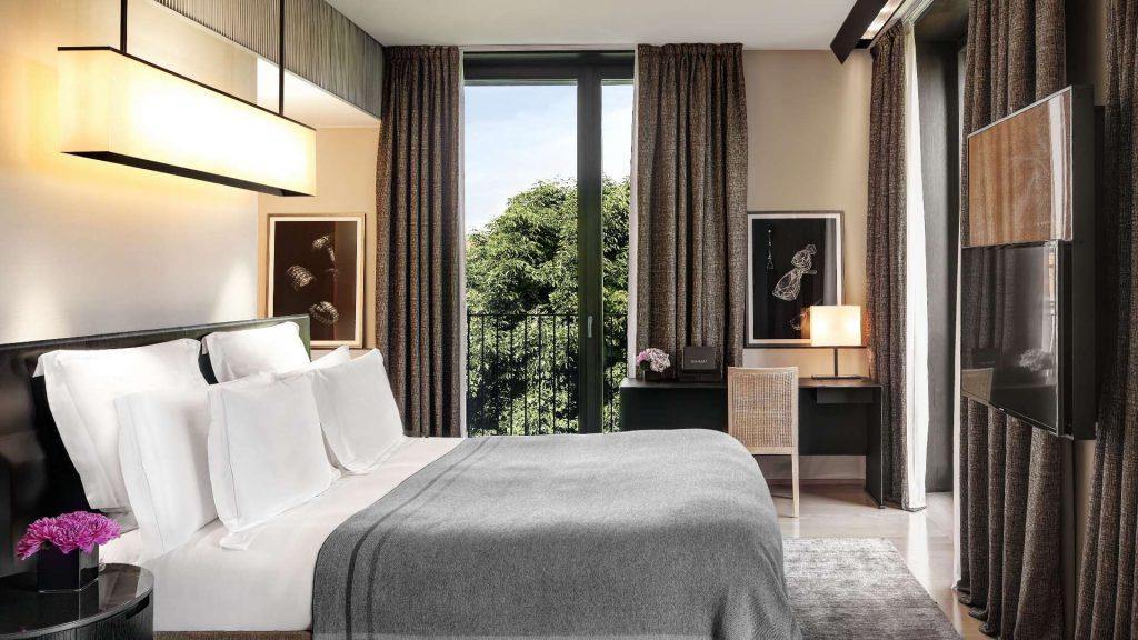 Bulgari Hotel Mailand Zimmer