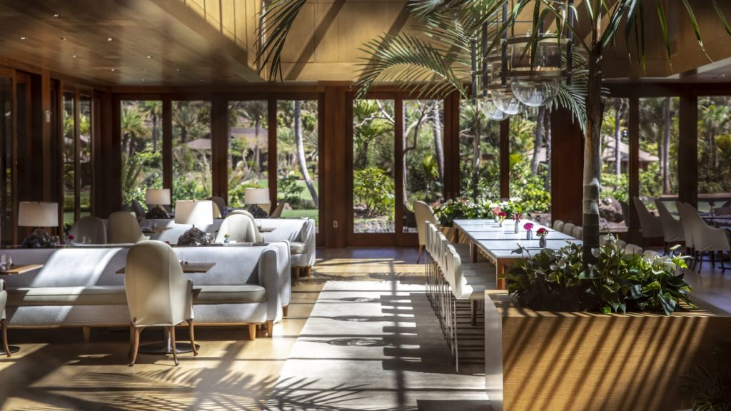 Four Seasons Hawaii Lanai Restaurant