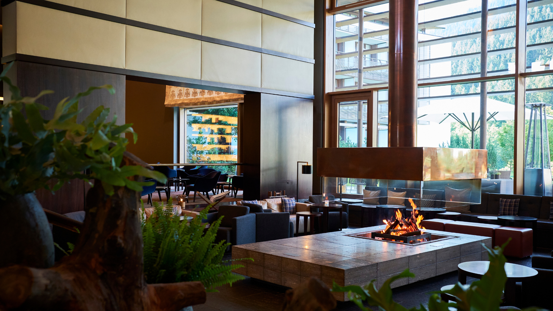 Kempinski Hotel Berchtesgaden Lobby Und Bar
