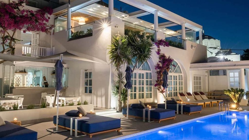 Santorini Aressana Spa Hotel Pool 1 1024x576