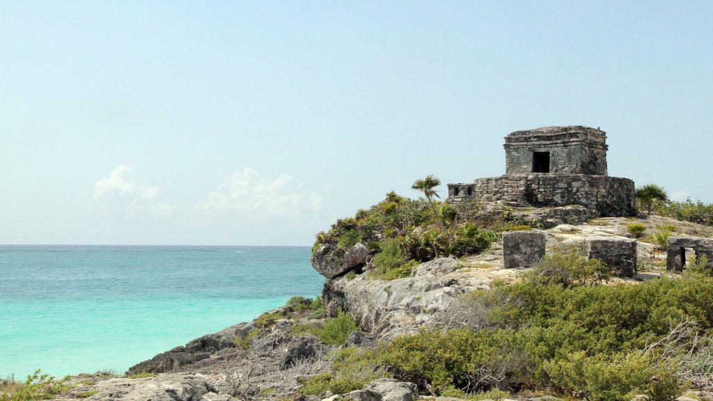 Ruinas mayas del aeropuerto de México Libra