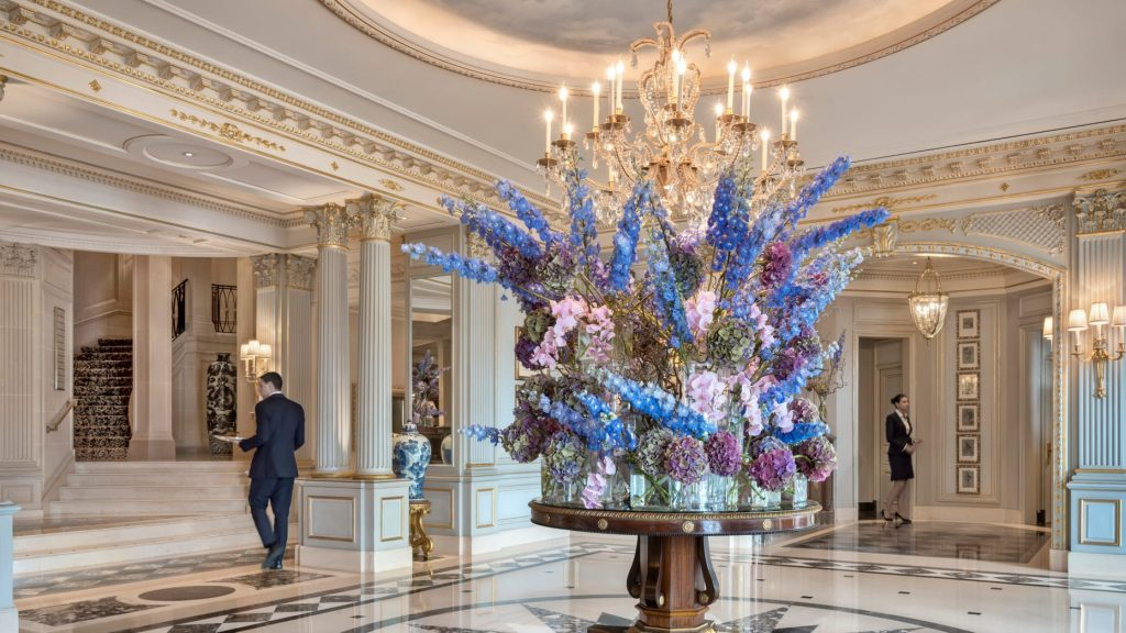Four Seasons Genf Lobby