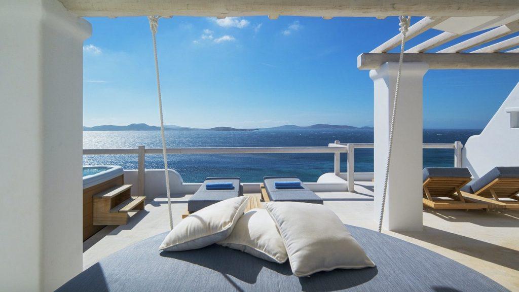 Mykonos Grand Hotel Executive Sea View Suite