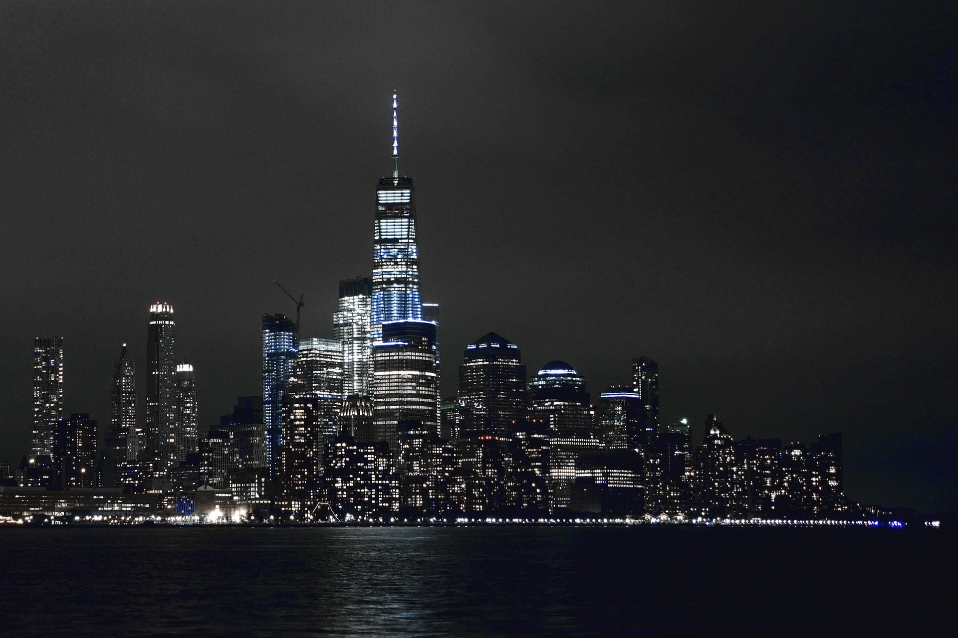 New York Skyline Nacht 1