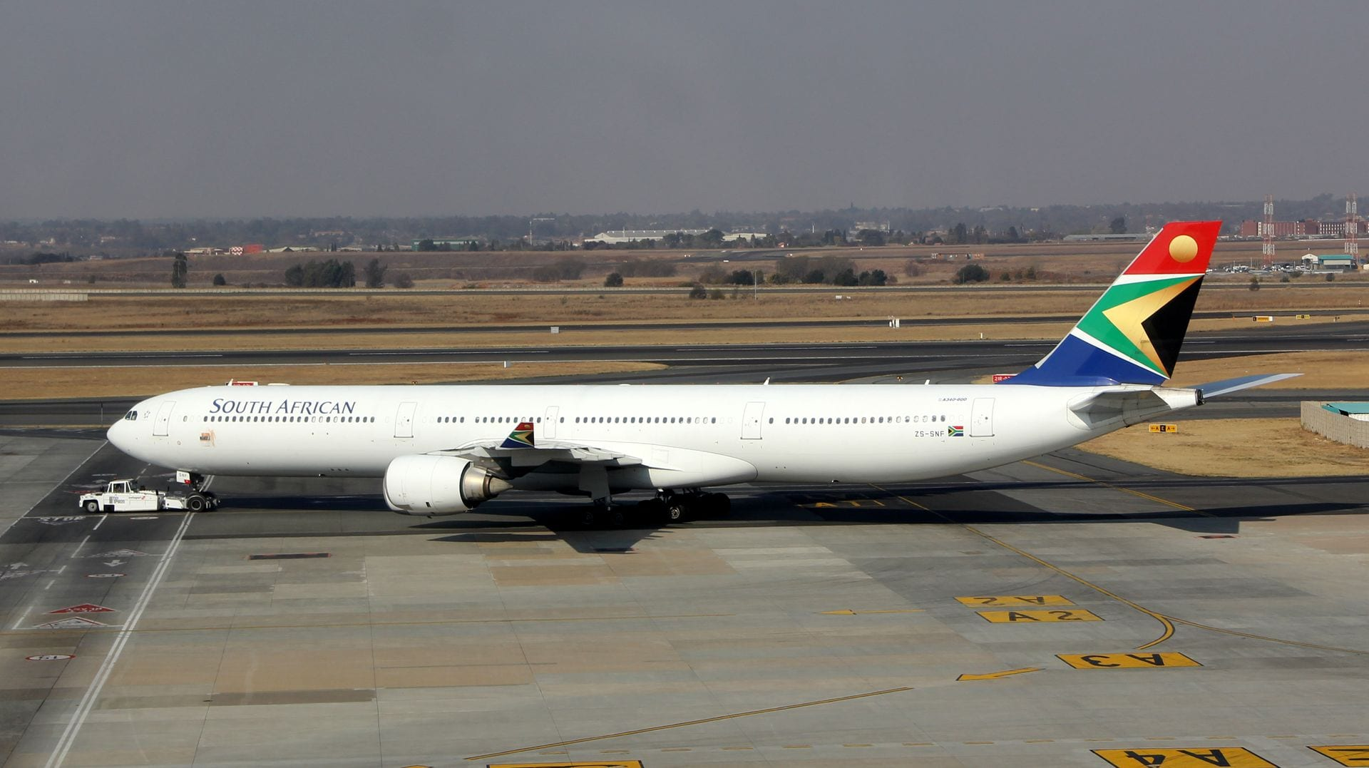 South African Airways Airbus A340 2