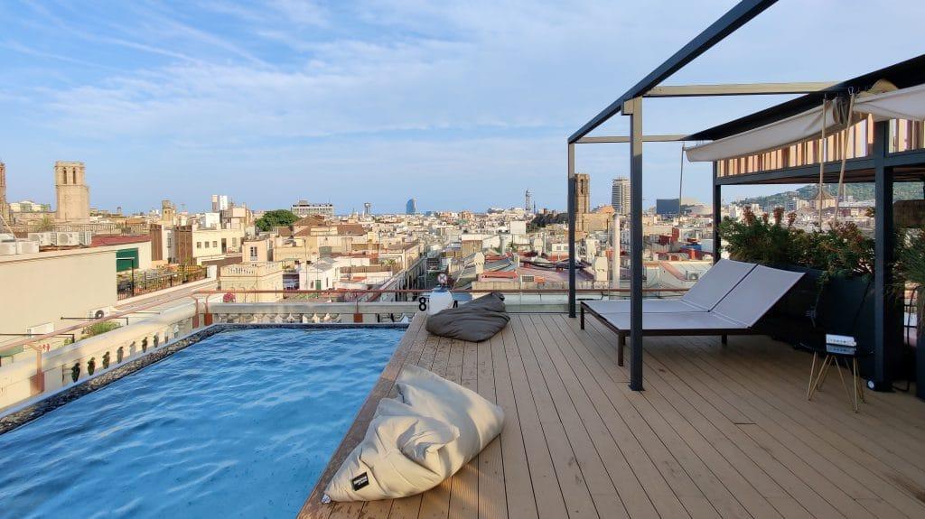 Kimpton Vividora Barcelona Rooftop Pool 4 1024x575