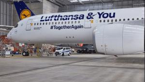 Lufthansa Airbus A350 Sonderlackierung
